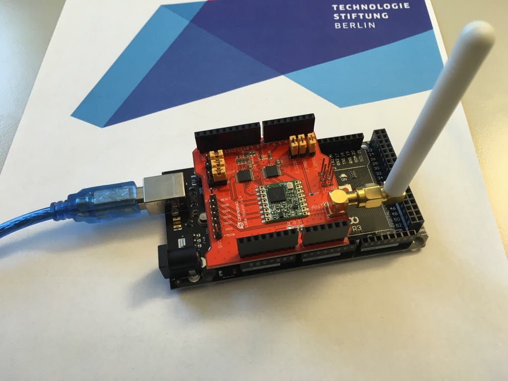 New Lora Nodes Ideation Prototyping Lab Projects In Electronics The Consist Of An Arduino Mega 2560 And A Dragino Shield Some Even Have Gps Tracker We Registered Them With Things Network Ttn Got